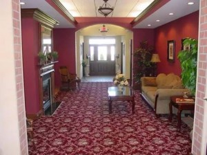 Interior common space of Buffalo First Wealth Management